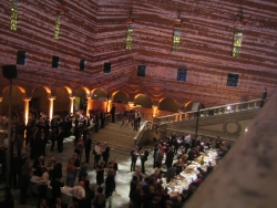 Gala Dinner in the Golden Hall at Stockholms famous City Hall